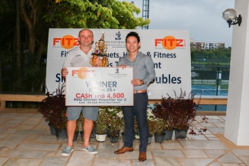 8th Tennis Tournament finished in style at FITZ Club – Racquets, Health & Fitness