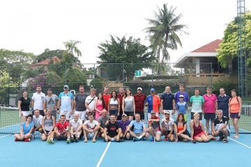 Royal Cliff Welcomes Amatour Tennis Group for Santa Cup 2017