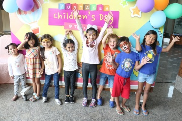 Children's Day filled with fun and laughter at Royal Cliff Hotels Group