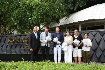 Royal Cliff Warmly Welcomes Popular Thai Celebrities