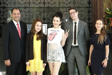 Royal Cliff Warmly Welcomes Famous Kazakh Pop Star, Yerke Yesmakhan