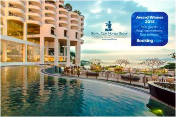 Royal Cliff wins Guest Review Award from Booking.com