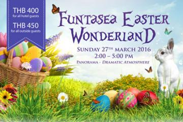 Hop on Over and Join Royal Cliff's Funtasea Easter Wonderland!