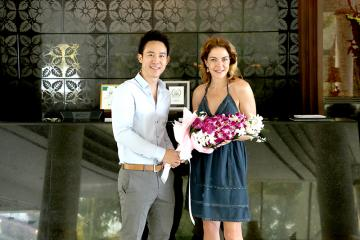 Royal Cliff Welcomes Renowned Italian Actress Mrs. Claudia Gerini