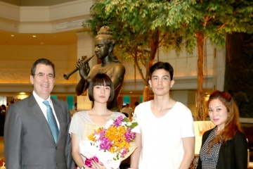 Royal Cliff Welcomes Popular Thai Superstar, Sunny Suwanmethanont