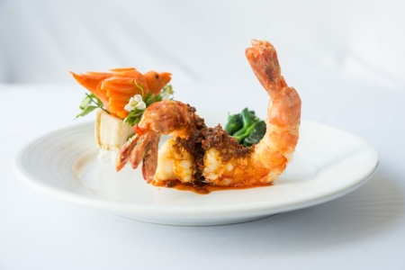 "Sautéed Tiger Prawns With ""XO"" Sauce"