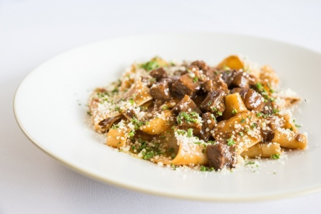 Papardelle With Braised Short Ribs Ragout