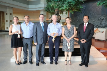 Royal Cliff management welcomes the Ambassador of Switzerland
