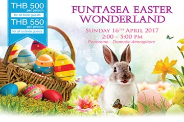 Royal Cliff's Popular Funtasea Easter Wonderland is Returning Soon!