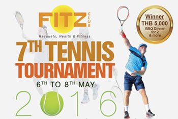 Come and Join Royal Cliff's 7th FITZ Club Tennis Tournament
