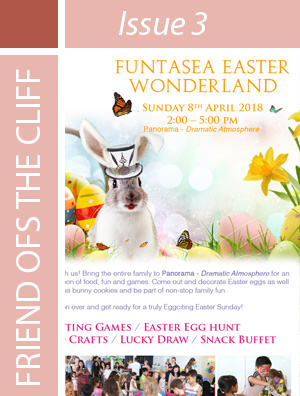 Celebrate Easter with us! Join our popular Funtasea Easter Wonderland and celebrate an unforgettable Easter on Sunday, 8 April 2018 at Panorama - Dramatic Atmosphere.