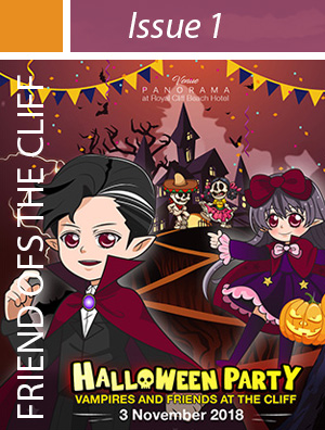 Invitation to join Royal Cliff's Halloween Family Fun Party on 3 Nov 2018