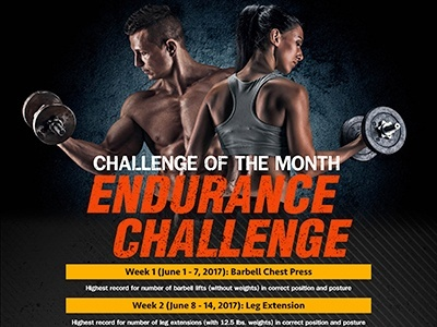 Challenge of the Month Endurance Challenge