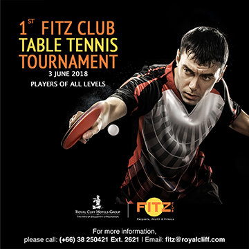 1st Fitz Club Table Tennis Tournament 2018