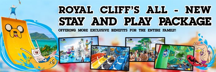 Royal Cliff's All - New Stay And Play Package