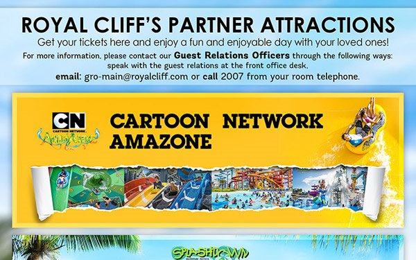 Get passes to exciting attractions around town from us