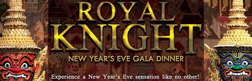 The Royal Knight New Year's Eve Gala Dinner