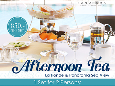 Afternoon Tea La Ronde & Panorama Sea View