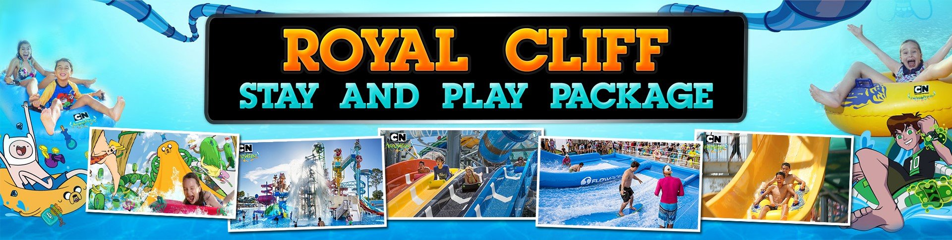 Keep Cool this Summer with Royal Cliff's Stay & Play Package