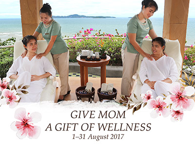 Give Mom A Gift Of Wellness 1-31 August 2017