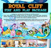 Royal Cliff Stay And Play Package
