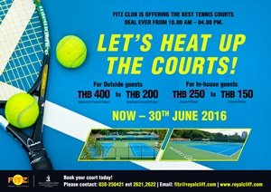 Let's Heat Up The Courts!