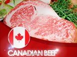 Canadian beef promotion at Grill Room