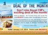 Deal of the Month January 2015