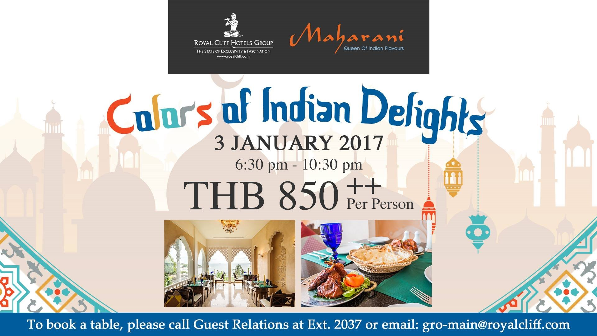 Colors of Indian Delight