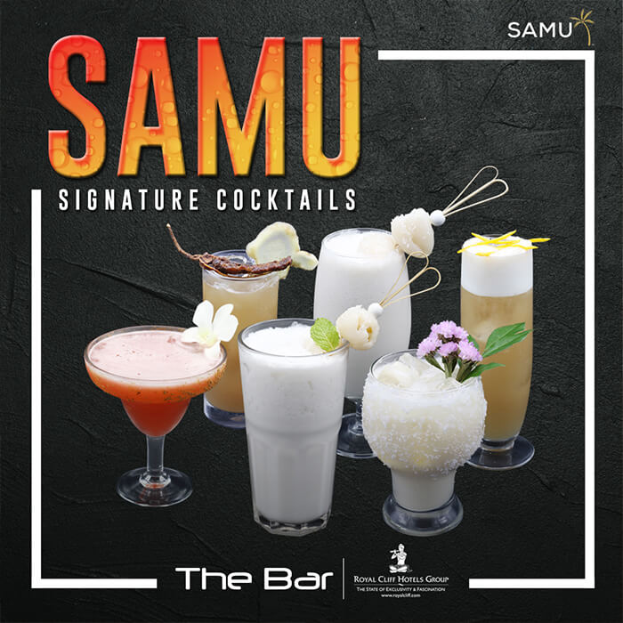 Samu Signature Cocktails