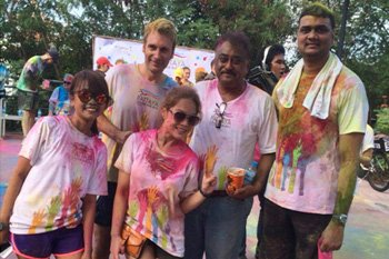 Royal Cliff Joins 2nd Annual Pattaya Colour Run for Charity
