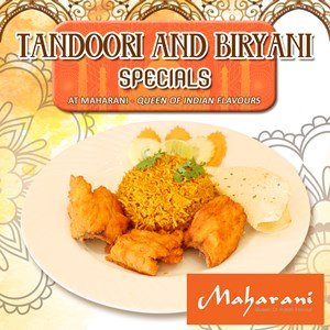 Tandoori and Biryani Specials