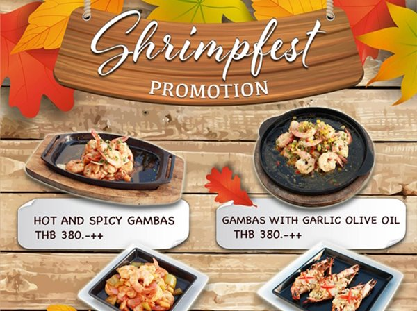 Shrimpfest Promotion at Breezeo - Be Yourself Dining