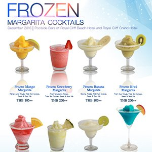 Frozen - Margarita Cocktails