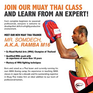 Join Our Muay Thai Class And Learn From An Expert!