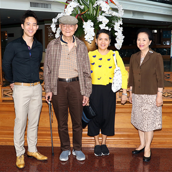 (English) Royal Cliff Welcomes Former Prime Minister of Thailand, Mr. Meechai Ruchuphan