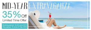 Mid-Year Extravaganza  – 35% Off ** Limited Time Offer **